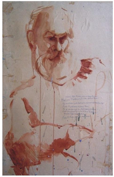 Portrét J. M. Hořického (studie)