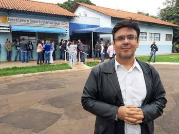 Vereador Fritz participa de lançamento de plataforma de agendamento do CCZ de Campo Grande