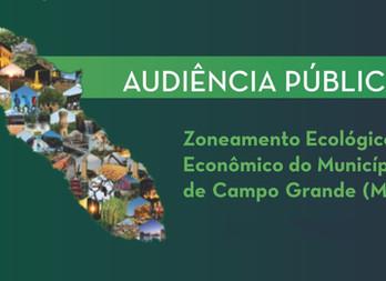 Zoneamento ecológico-econômico da Capital será apresentado em audiência pública no dia 20