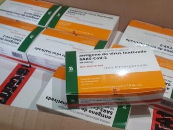 Câmara acompanha início da vacinação contra a Covid-19 em Dourados