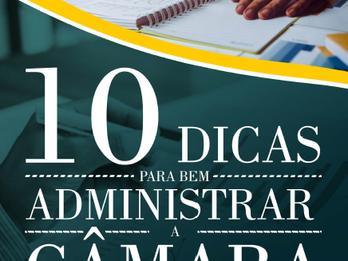 Dez dicas para bem adminstrar a Câmara de Vereadores