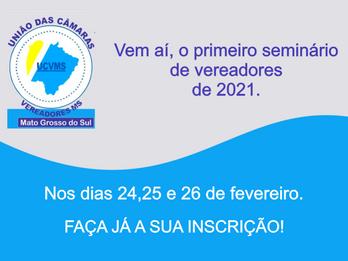 Primeiro seminário Estadual de vereadores de 2021