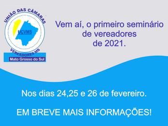 Primeiro seminário de 2021