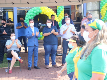 Vereadores participam de ato cívico alusivo ao dia da independência