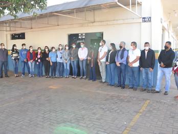 Vereadores participam da solenidade de entrega do CER para a APAE