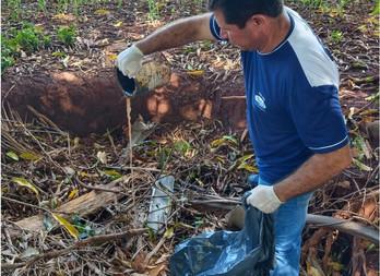 Olavo Sul continua sua participação na luta contra a dengue