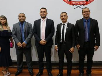PSDB segue na presidência da Câmara de Ponta Porã e vereadora do DEM fica na 1ª secretaria