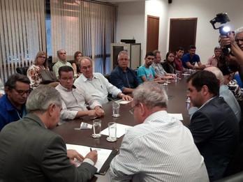 Sergio Nogueira participa de assinatura do convênio para construção do centro de atendimento de AAGD