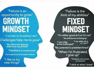 GROWTH VS. FIXED MINDSET IN ATHLETES