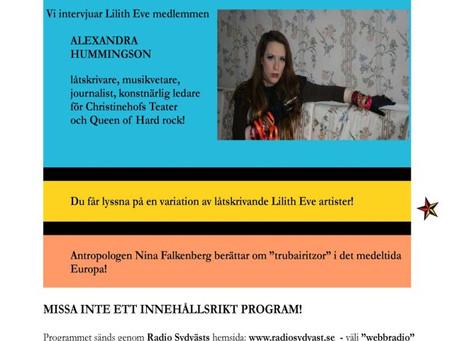 Radio Lilith – Radio Sydväst 88.9 MHz