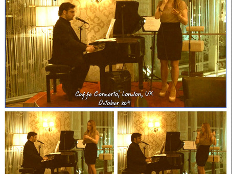 Photos: @AlexHummingson at #CaffeConcerto in #London, #UK!