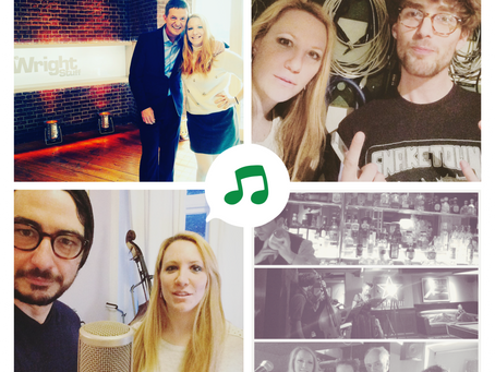 In great company! It's all about #music + #TV in #London