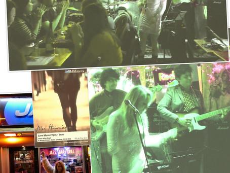 Photos: @AlexHummingson w/ #band at #JazzAfterDark in #London, #UK!