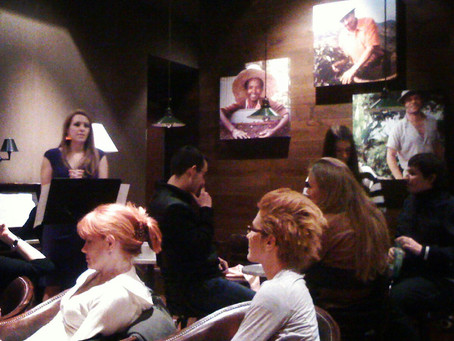 Photos: Performing at #Starbucks Plac Trzech Krzyzy in #Warsaw, #Poland