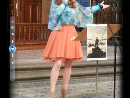 Photo: @AlexHummingson #performing at S:t Johannes #Church! #rainbow #hbt #regnbågsmässan #svenskaky