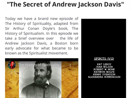 "#Documentary: @AlexHummingson voice acting in ""History of Spirituality"" (2020) S1 E7: ""The Secret of"