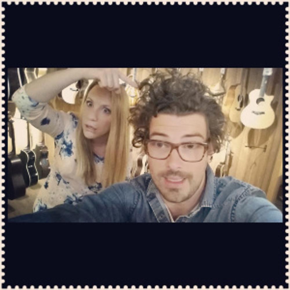 Duvall & Hummingson at Guitar Center