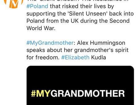Video: @AlexHummingson – #MyGrandmother during #WWII on @FaithMattersUK