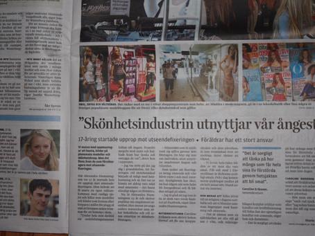 """@AlexHummingson: """"Skönhetsindustrin uttnyttjar vår ångest"""" – Upsala Nya Tidning (A"""