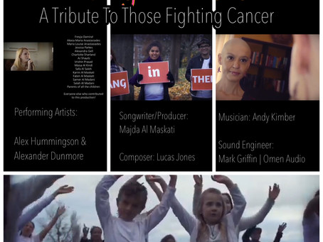 New video release: Hang In There – Alex Hummingson & Alexander Dunmore #cancer #hanginther