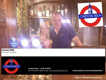 Radio: @AlexHummingson on London Beat