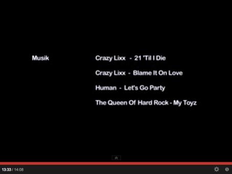 The song MY TOYZ by @queenofhardrock & @AlexHummingson in short film ÄLSKADE GROUPIES