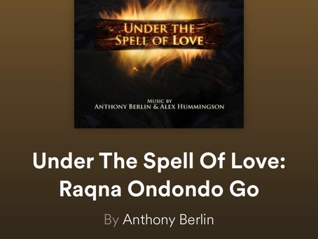 New release: Under The Spell of Love: Raqna Ondondo Go – @AlexHummingson & @AnthonyBerlin