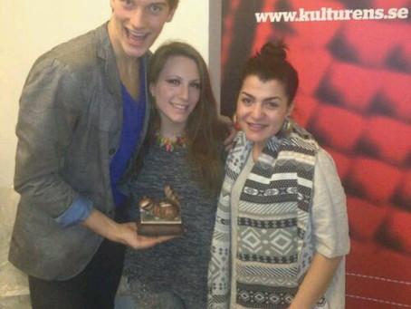 Photo: @AlexHummingson on @vivalavecka by @SthlmLokalradio FM 101.1 with @thobiasthorwid and Paloma