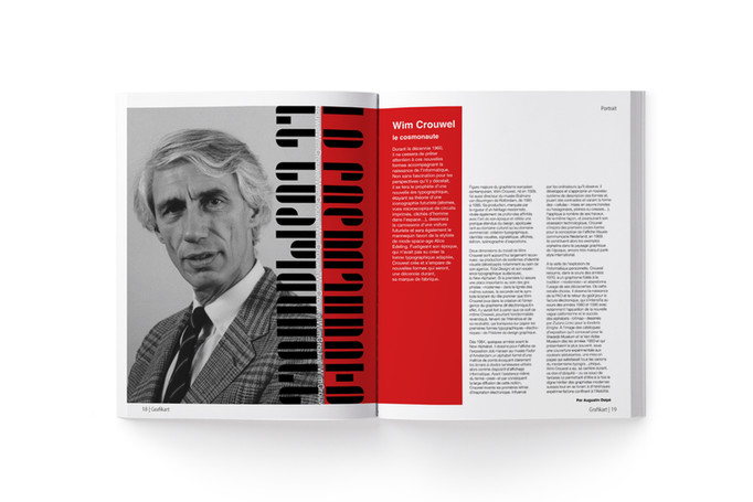 Mise en page : hommage à Wim Crouwel
