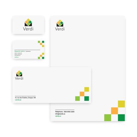 Logo et papeterie pour un paysagiste