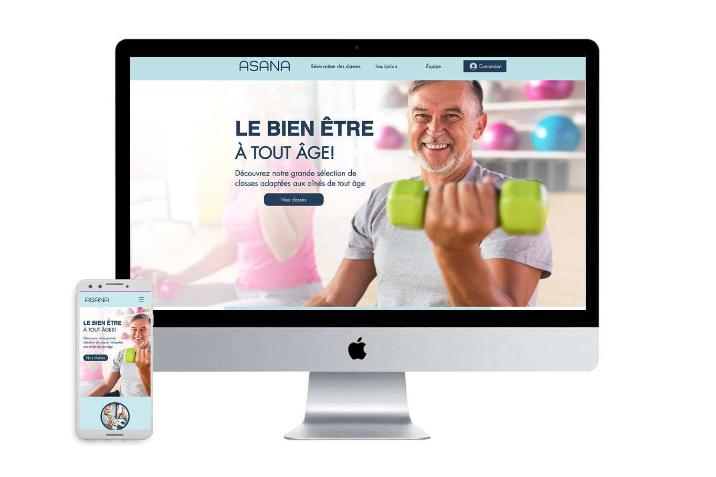 Site Internet pour un gymnase