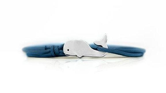 Cape Clasp Whale Bracelet