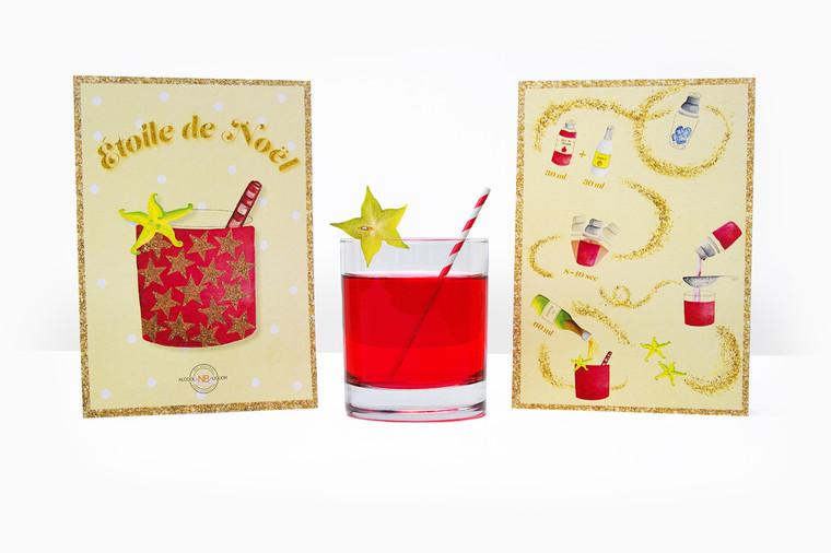 Illustration d'une recette de cocktail
