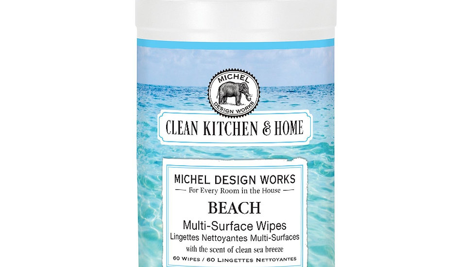 Beach Multi Surface Wipes