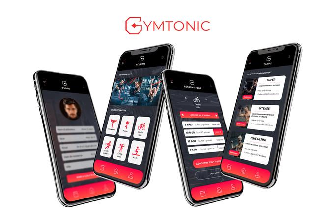Application mobile pour un gymnase
