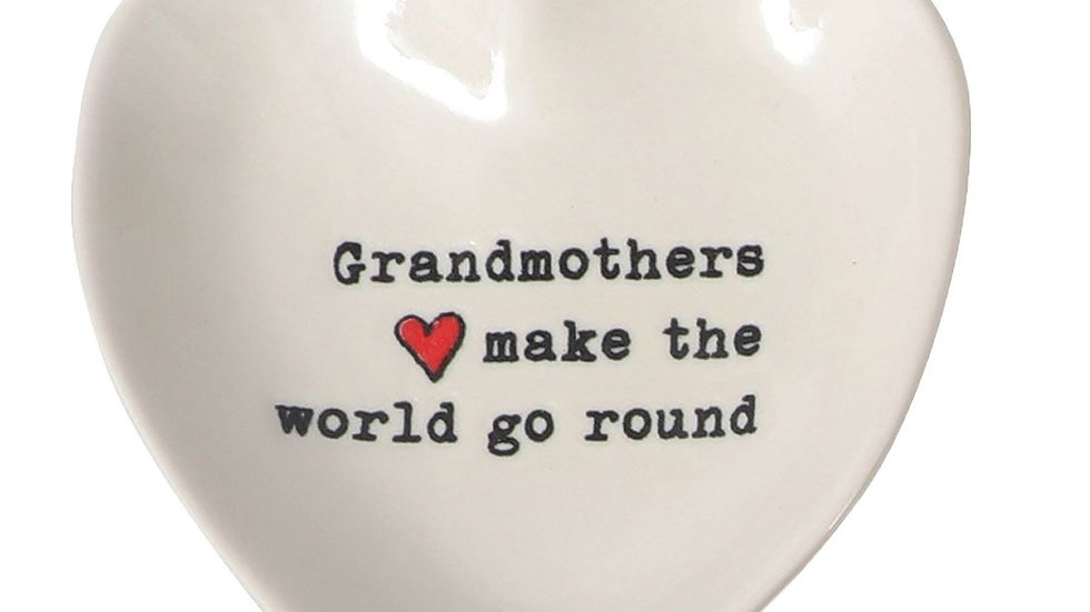 Grandmother Trinket Dish