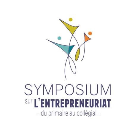Logo pour un symposium d'entreprenariat
