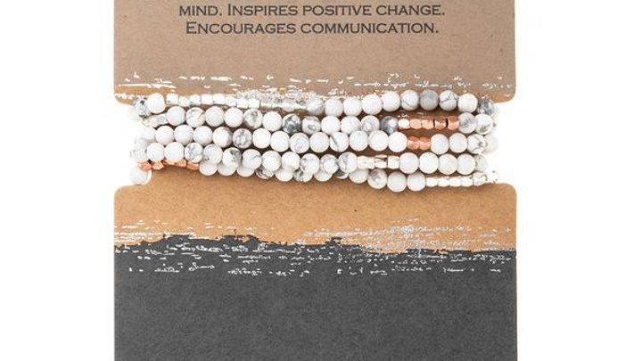 Howlite Wrap Bracelet