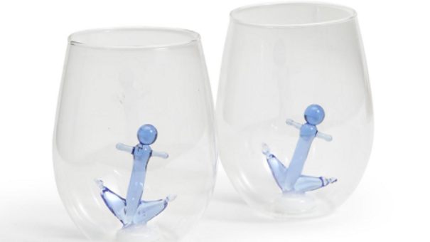Anchor Stemless Glass