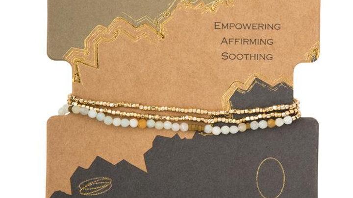 Delicate Amazonite Wrap Bracelet