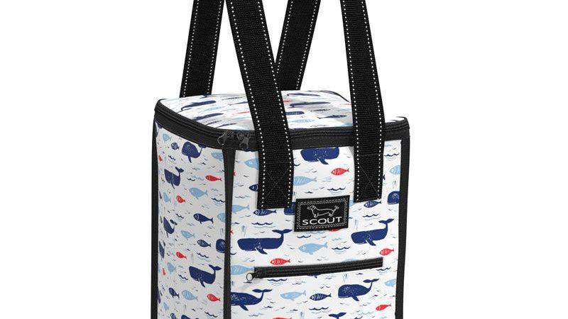 Scout Pleasure Chest Cooler -All is Whale