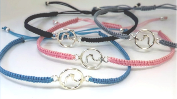 Macrame Wave Bracelet