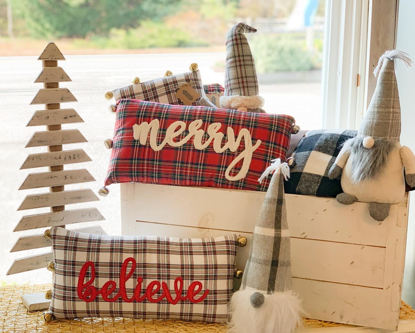 tartan pillows 2020