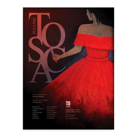Affiche pour un opéra