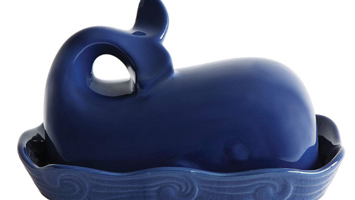 Blue Whale Butter Dish