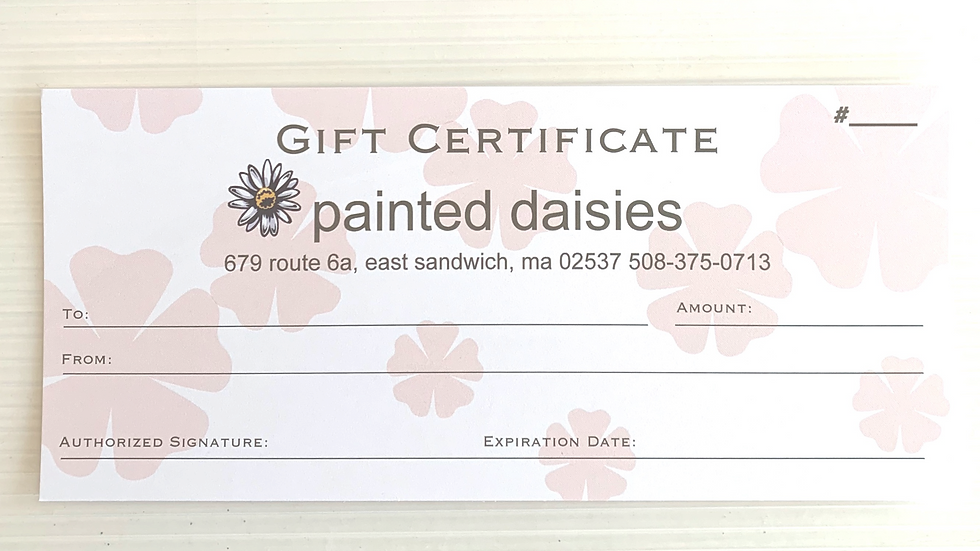 $50Gift Certificate