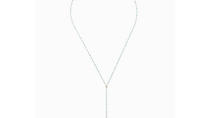 Chan Luu Turquoise Y Necklace