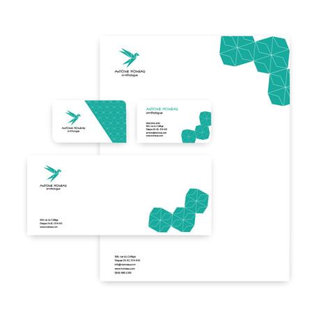 Logo et papeterie pour un ornitologue