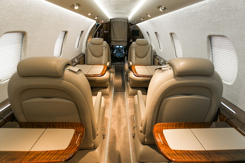 citation-XLS cabin interior