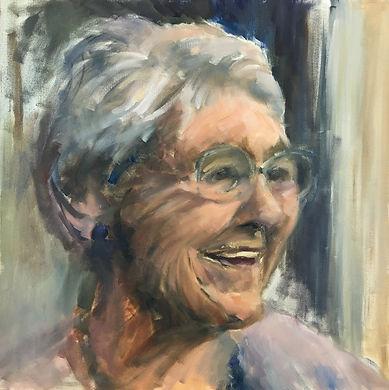 older lady portrait